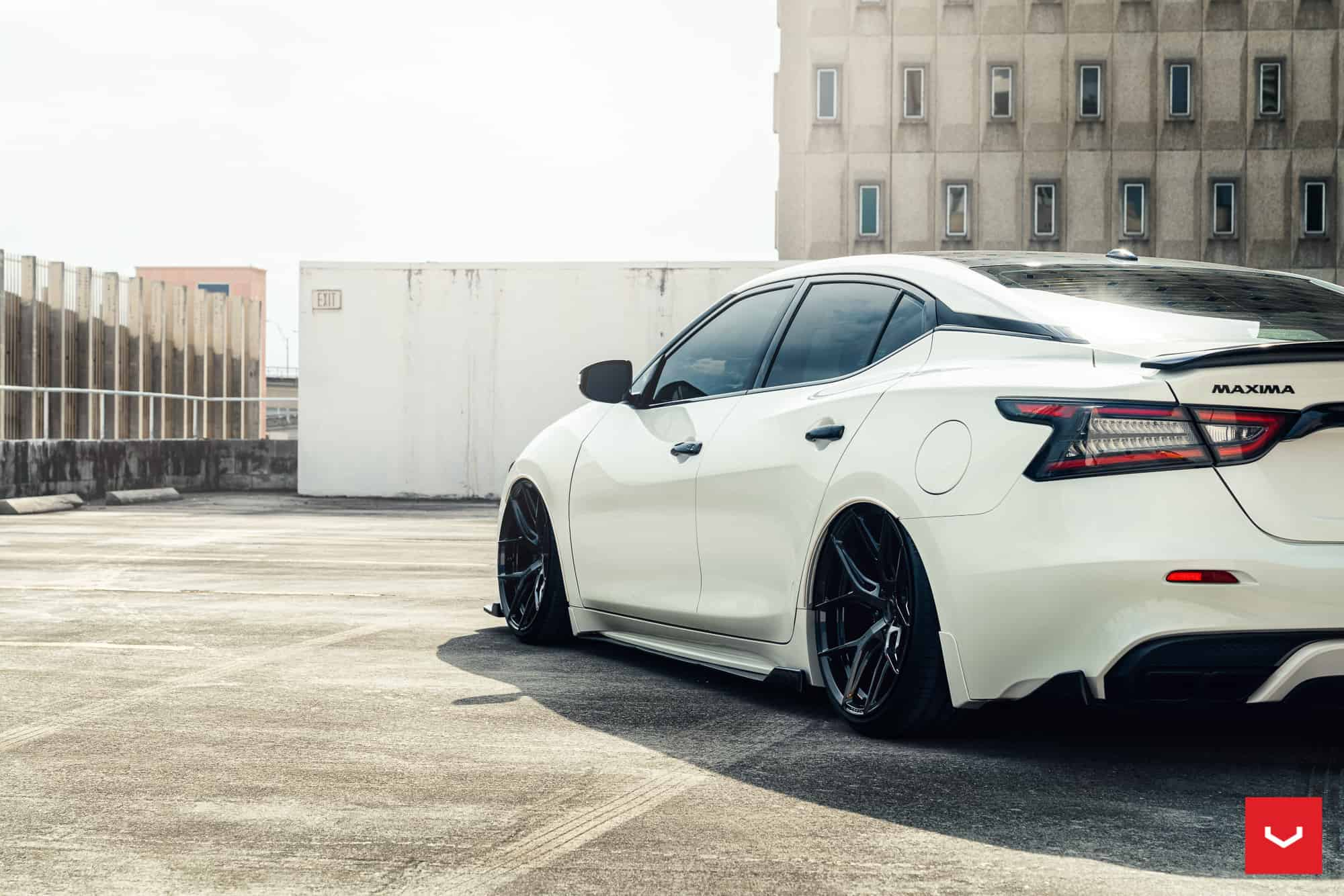Nissan Maxima RT Gets Vossen Wheels & Aero kit