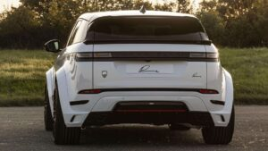 Range Rover Evoque wide body kit Lumma Design