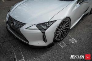 TOM'S Racing Lexus LC500 on Vossen Wheels