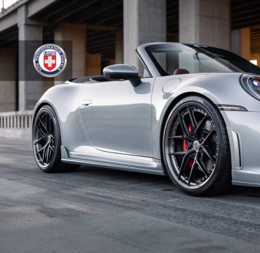Techart Porsche 992 Carrera 4S HRE Wheels