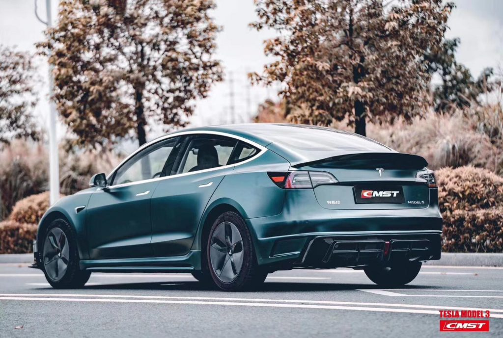 Tesla Model 3 Body Kit from CMST