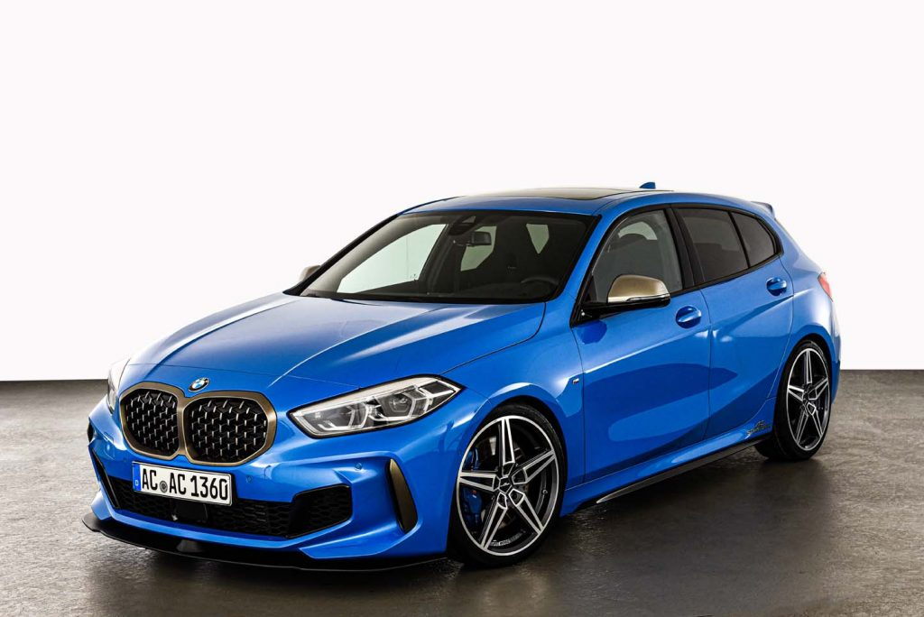BMW 1 series F40 tuning package by AC Schnitzer