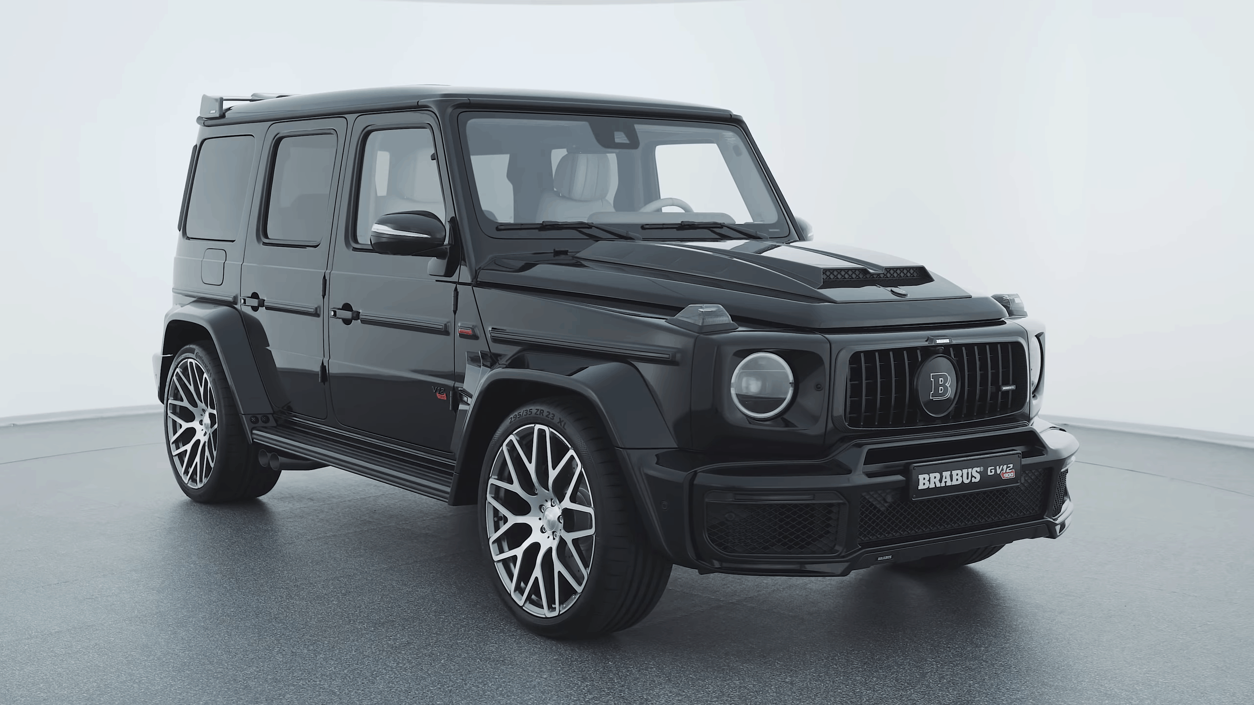 The world's strongest SUV - BRABUS G V12