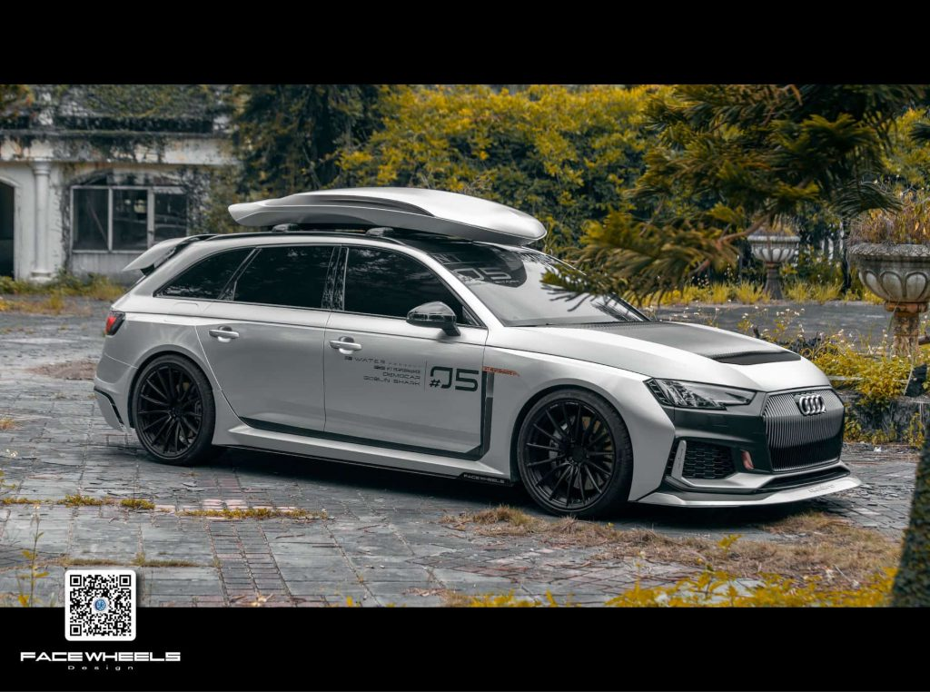NT Performance Audi RS4 on Face Wheels