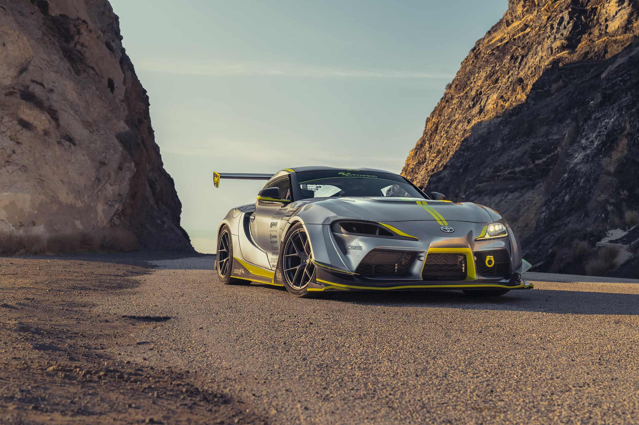 Toyota GR Supra Varis Widebody kit & Titan-7 wheels