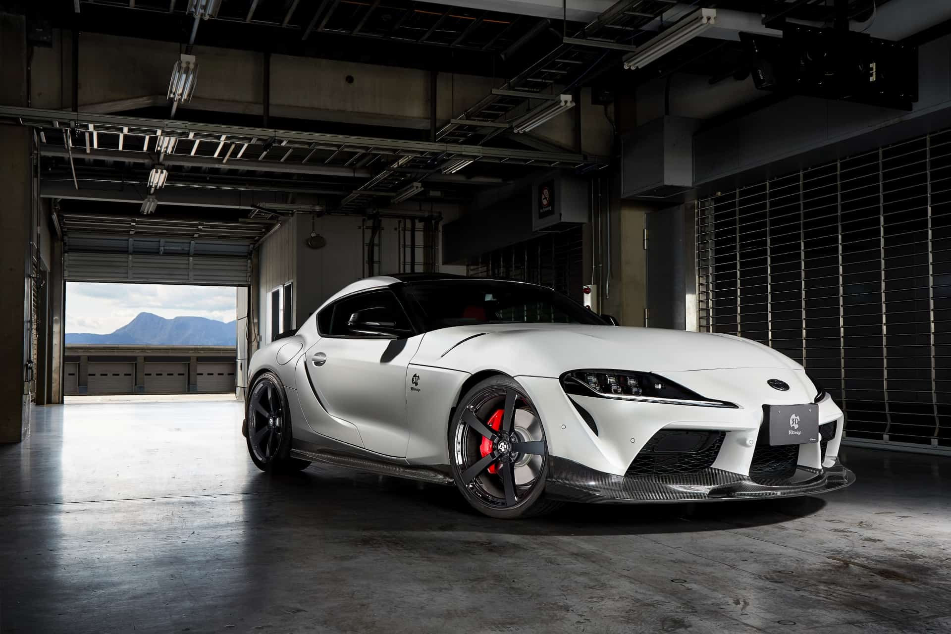 Toyota Supra 3DDesign tuning kit