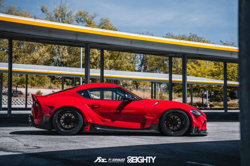 Toyota Supra GR tuned by 80eighty