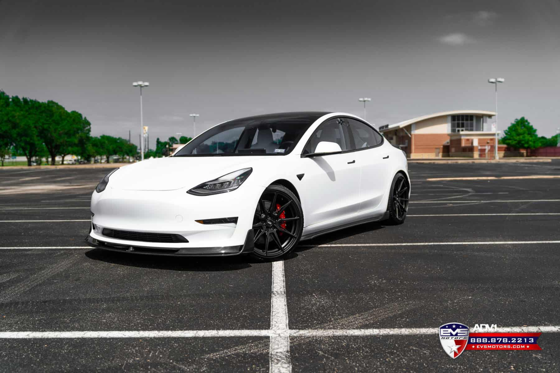 Vorsteiner Tesla Model 3 on ADV.1 Wheels