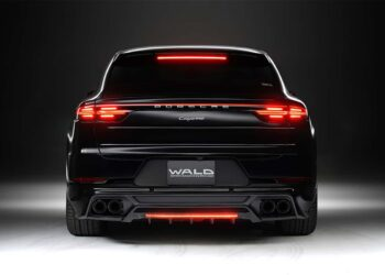 Cayenne Coupe Wald Black Bison body kit