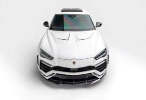 White vision Widebody Lamborghini Urus